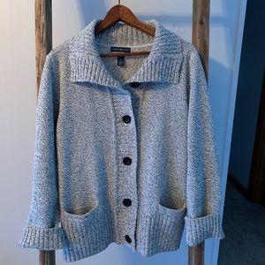 Karen Scott cardigan sweater
